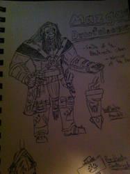 Mazgrag Dwarfcleaver 2.0 by PrimarchBlade