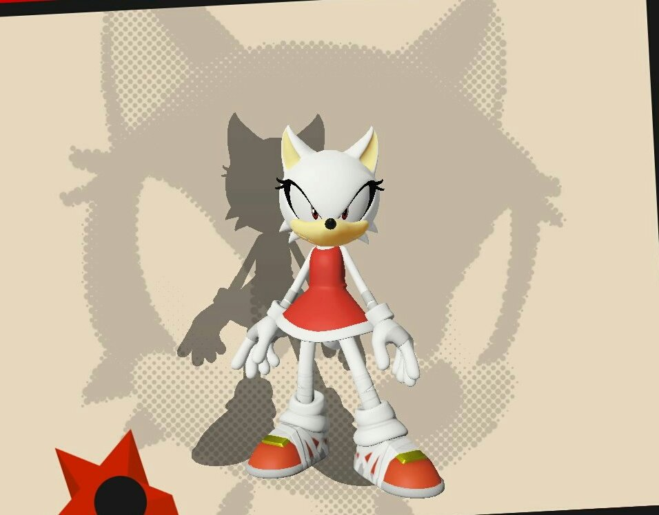 SONIC FORCES Wolfy's New Look by SpyroxCynder123