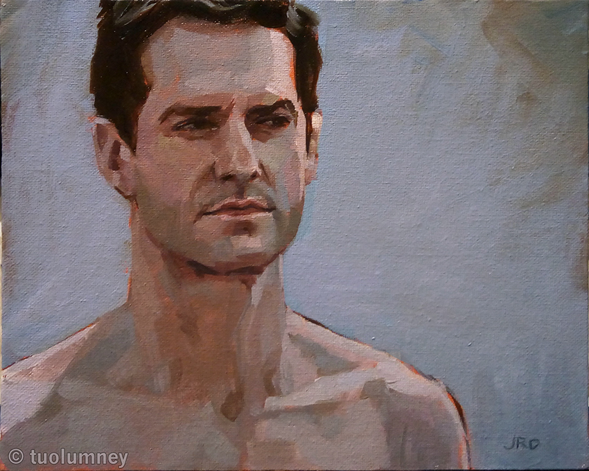 Value and Temperature Study oil on panel by tuolumney