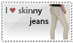 I :heart: Skinny Jeans Stamp by muffinonie