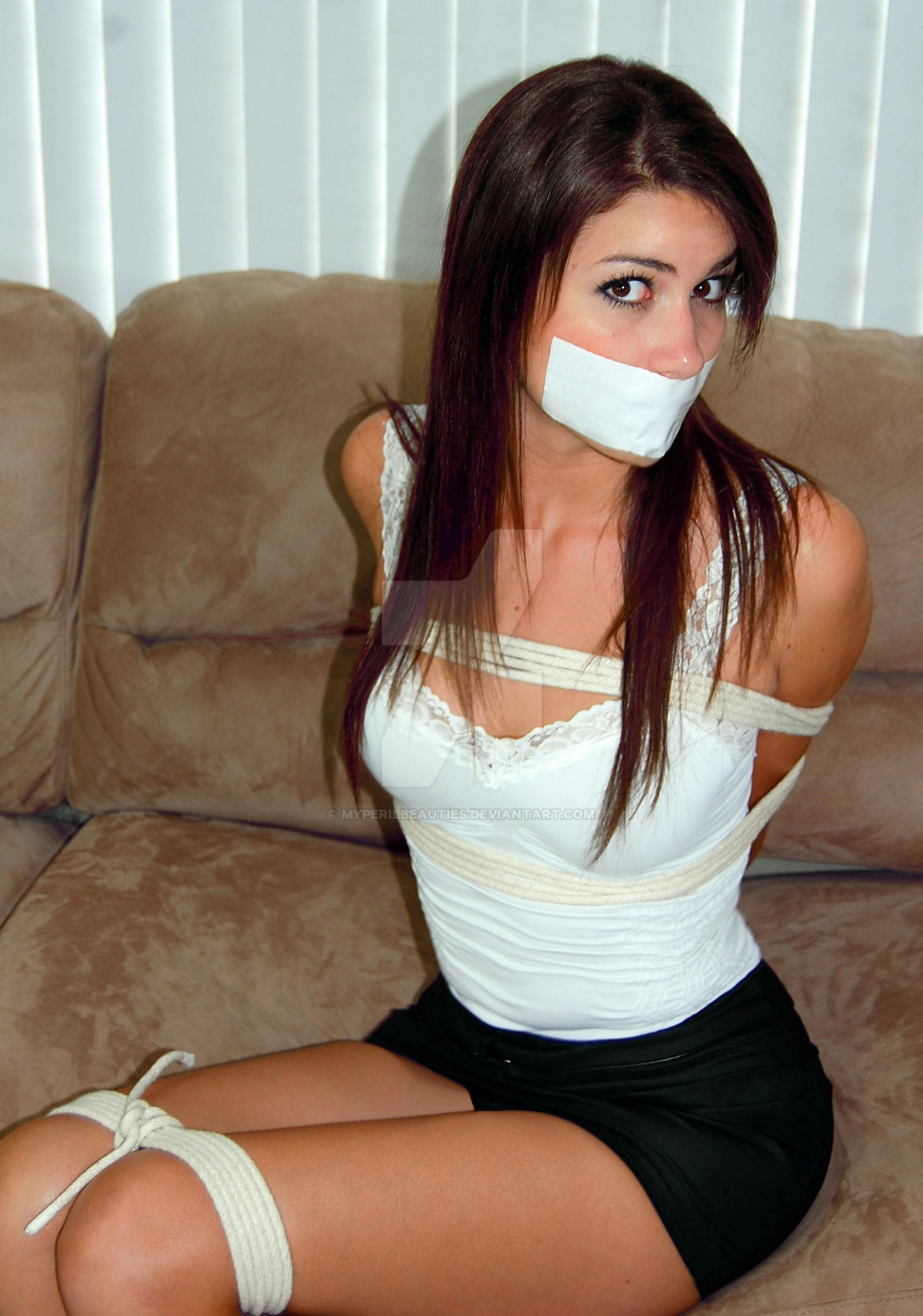 Tied gagged girl gallery — photo 8