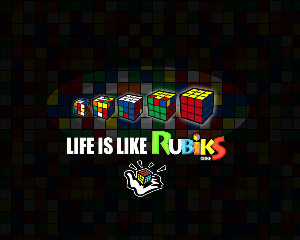 life is like rubik 39 s cube by tetrismaster on deviantart. Black Bedroom Furniture Sets. Home Design Ideas