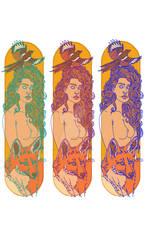 Skate Deck Designs by eraevareddyart