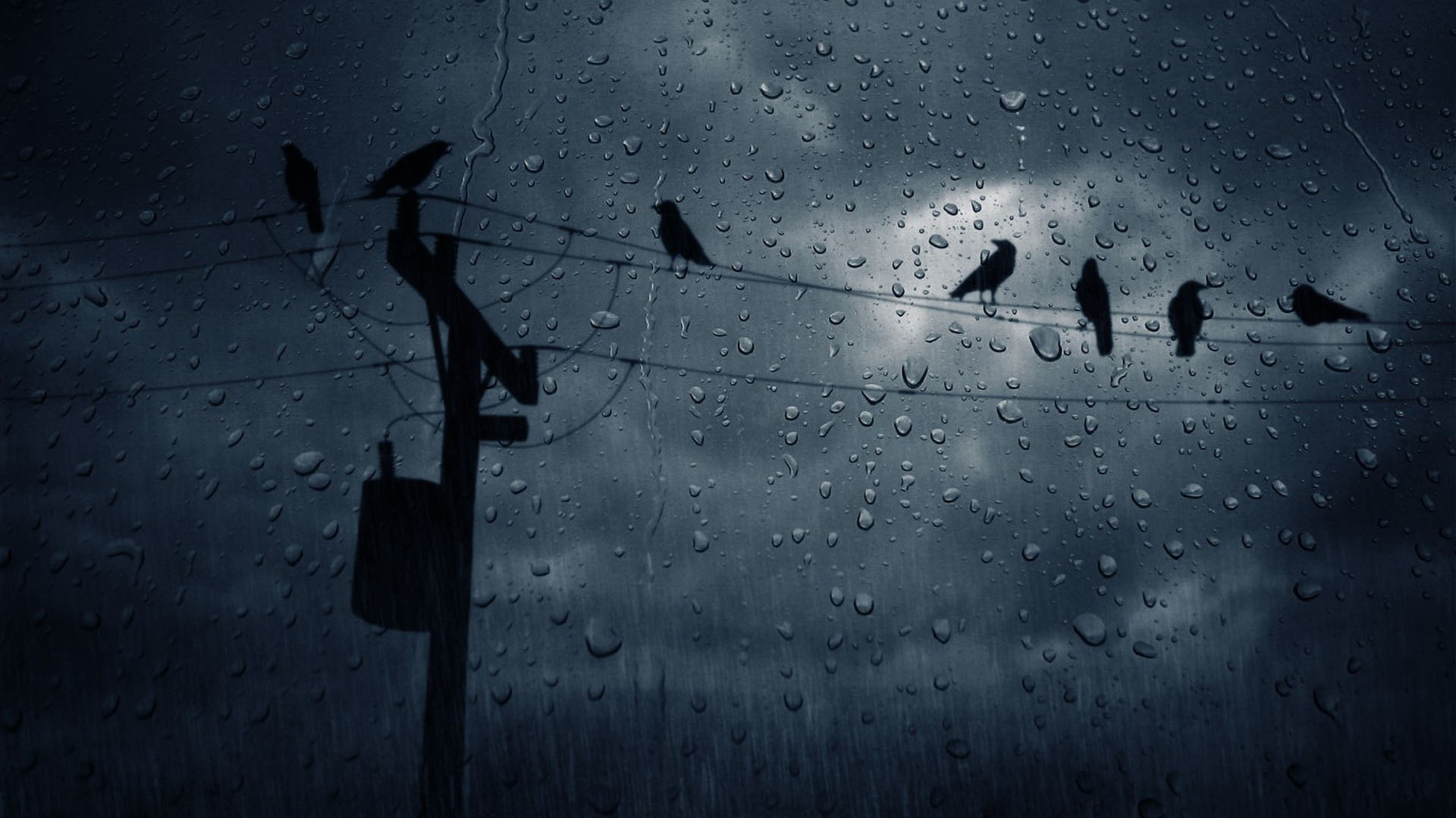 Hd wallpaper rain - Available In 1920 1080