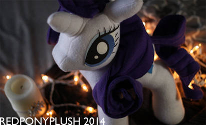Rarity Plush by RedPonyPlush