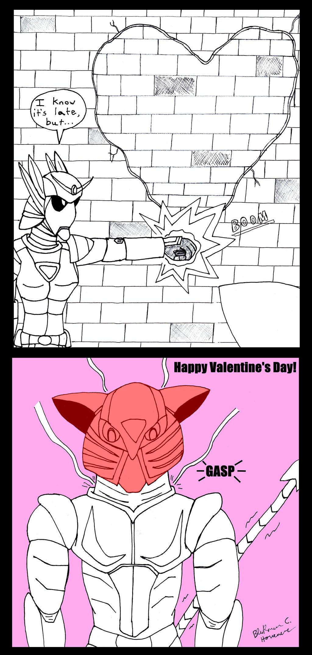 WyreCats Valentine by BluRavenHouvener