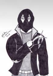 The Black Hood by BluRaven-C-Houvener