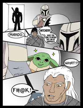 Toss a Baby Yoda to Your Witcher