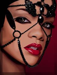 Rihanna by x0x0ashley