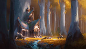 House of the Blue elves