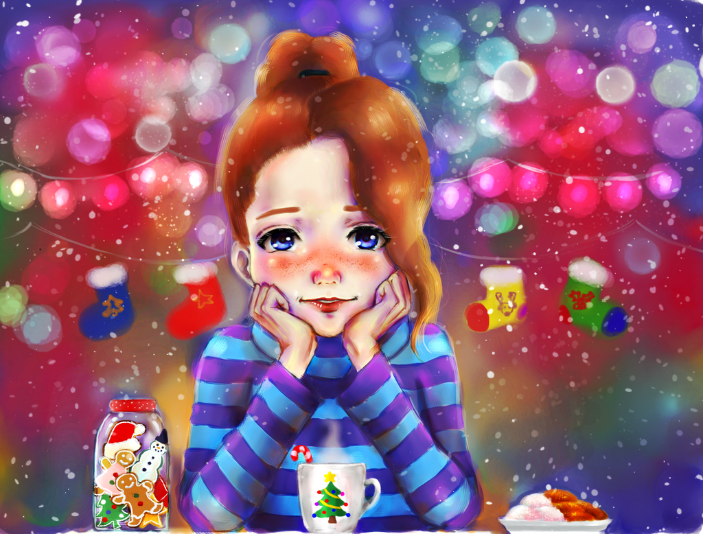 Christmas contest entry! by Alone-LostInParadise