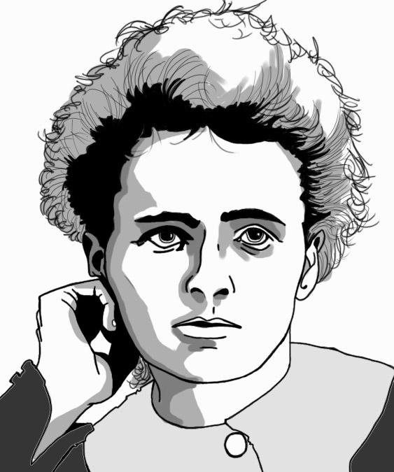 Marie Curie Gris by paulmuabdib
