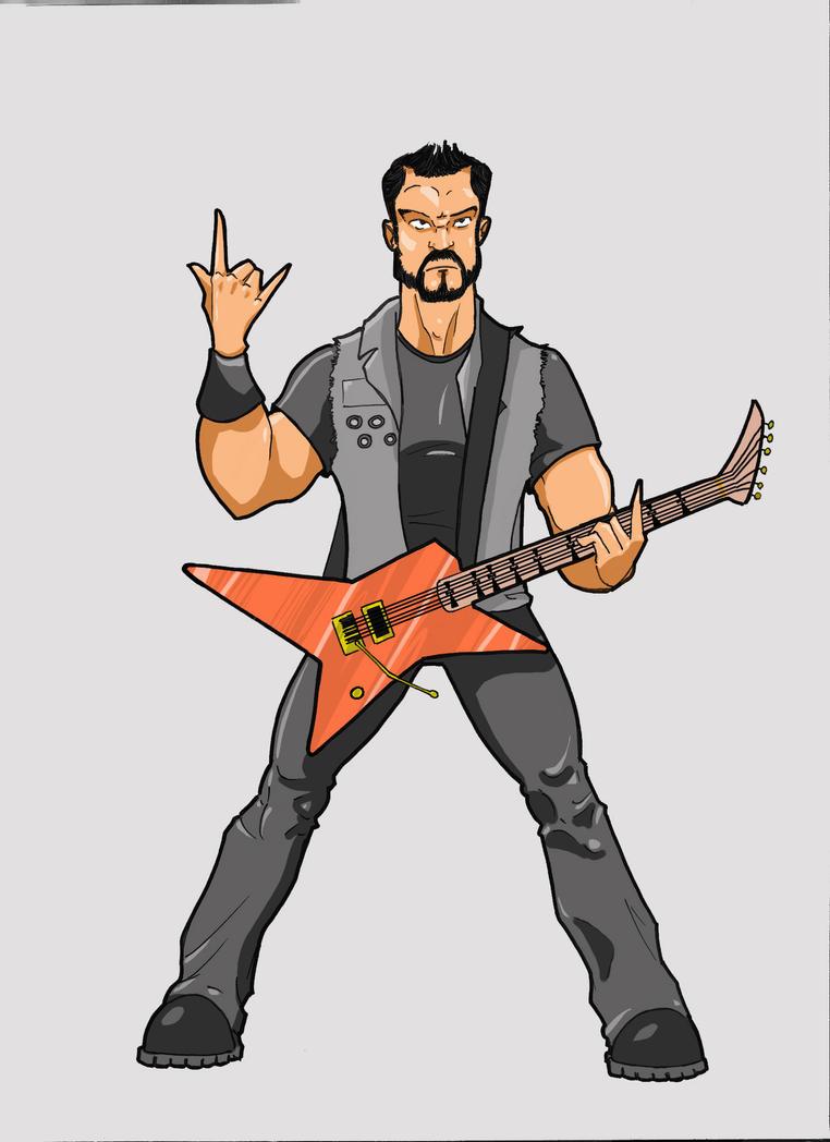 Guitariste by paulmuabdib