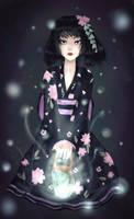 Kimono dollfie for Mio27