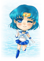 Gift- Sailor Mercury by Solceress