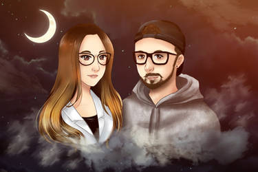 Couple gift commission :)