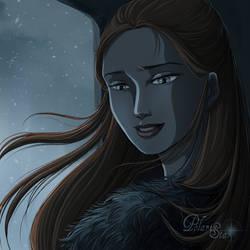 The Lady of Winterfell - Sansa Stark by AranelFealoss