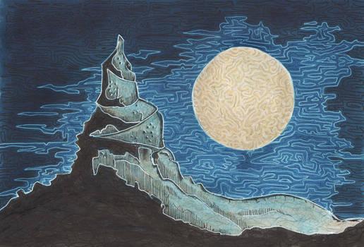 December ghost moon