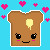 Retro Toast Free Use Avatar by ilovezuko123