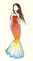 Katniss On Fire by ilovezuko123