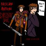 Nolan Burton (First Human Hollow Knight OC)