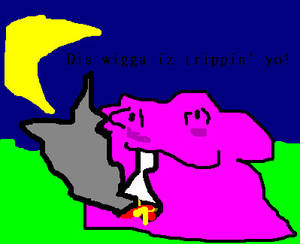 Ditto gets high