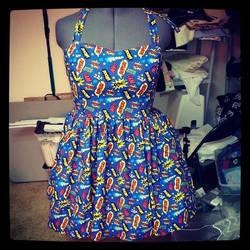 Onomatopoeia dress