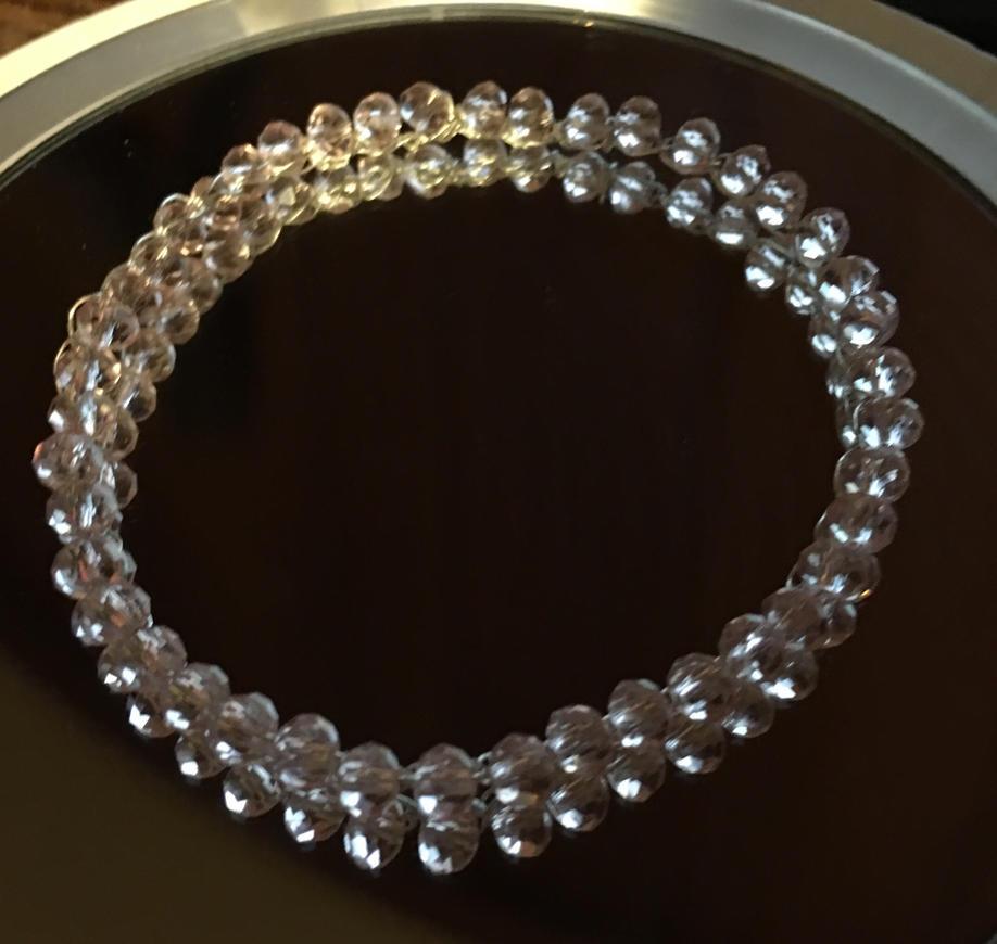 beaded wire bracelet by desertflower2323 on deviantart