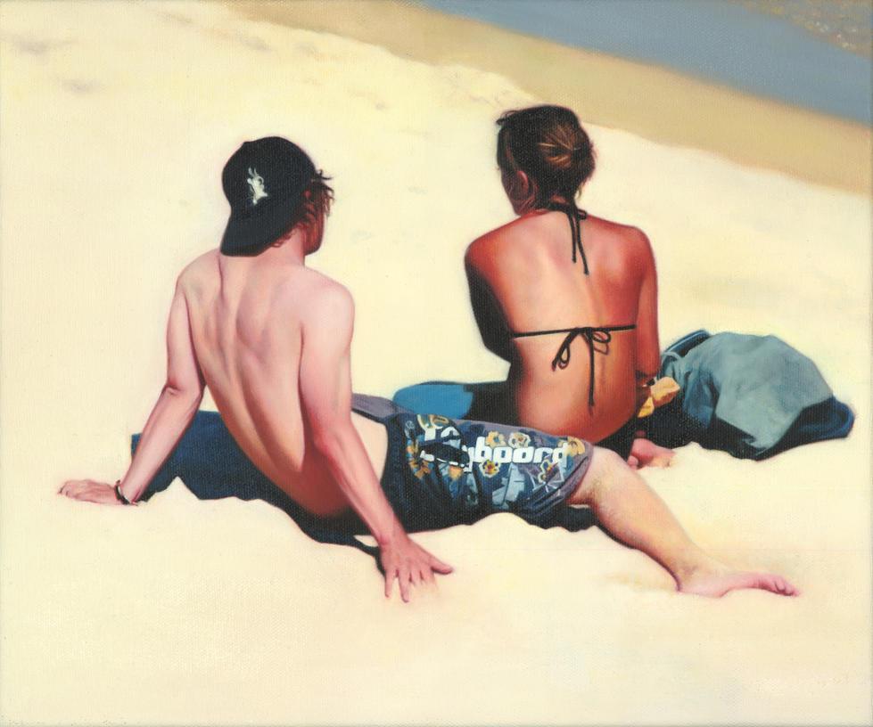 Beach Figures by pnmunoz