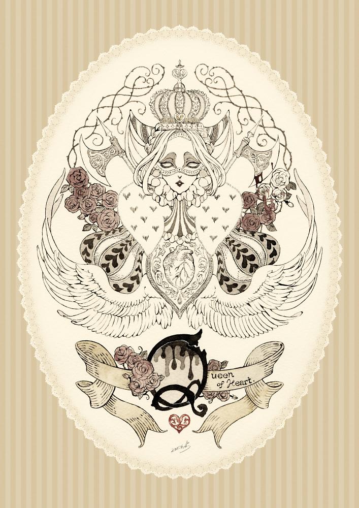 The Queen of Hearts by ss-sakura