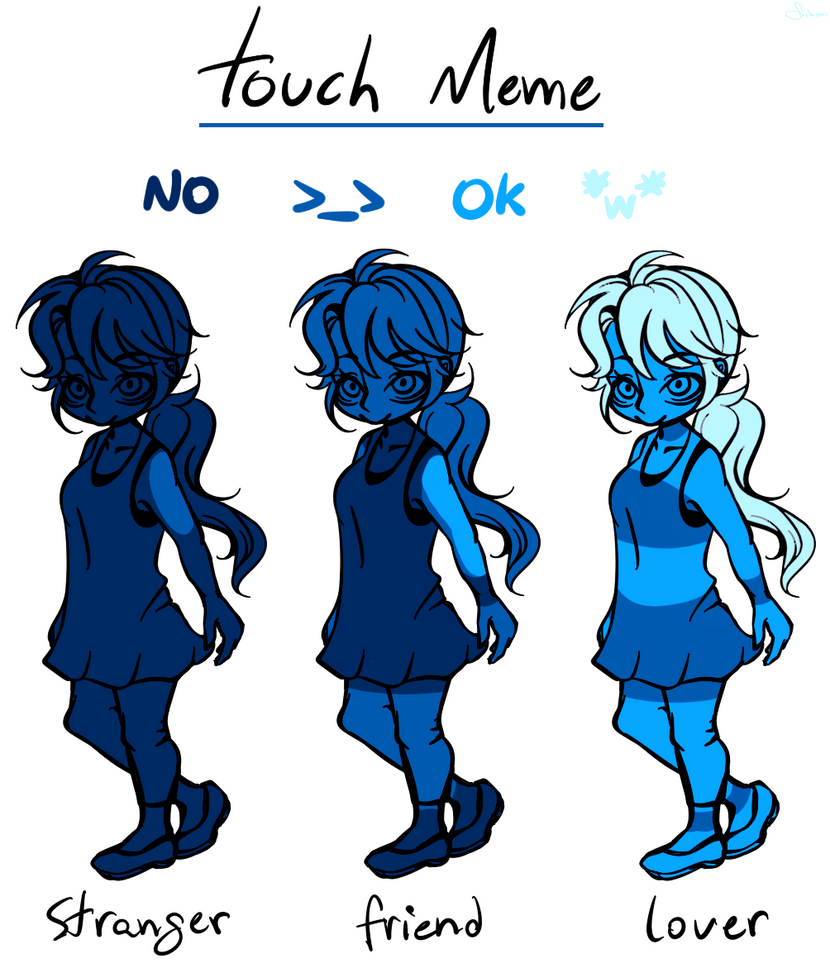 Touch Meme by FishOni