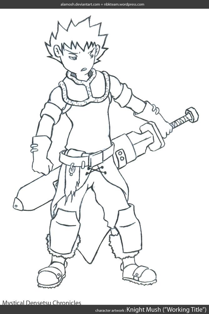 Knight Mush by alamosh