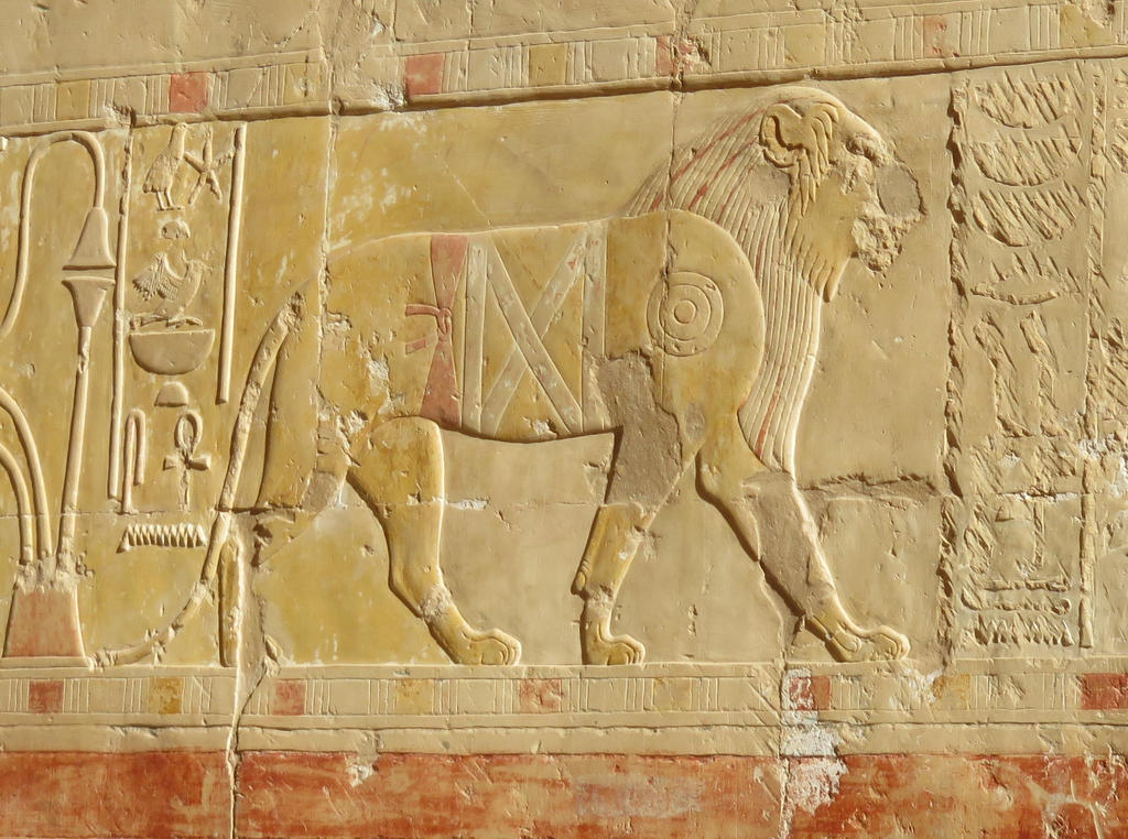 Hatshepsut's lion