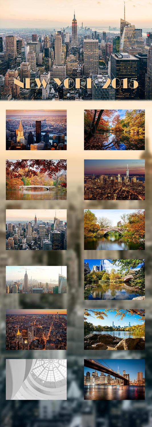 Art Calendar New York : New york calendar by neokeitaro on deviantart