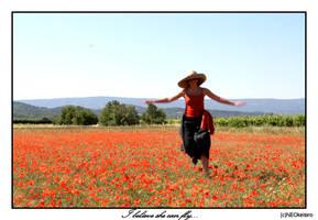 I believe she can fly... by NEOkeitaro
