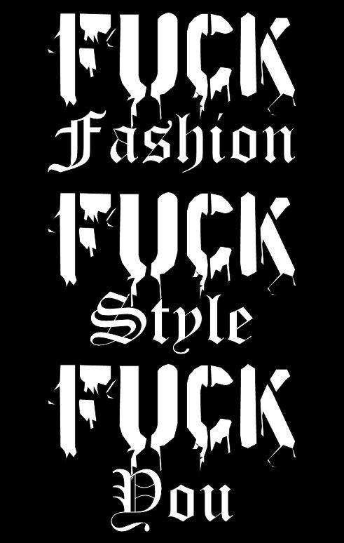 New Brand : FUCK Fashion by NEOkeitaro