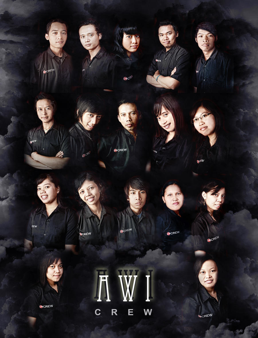 AWI crew by tetehrocker