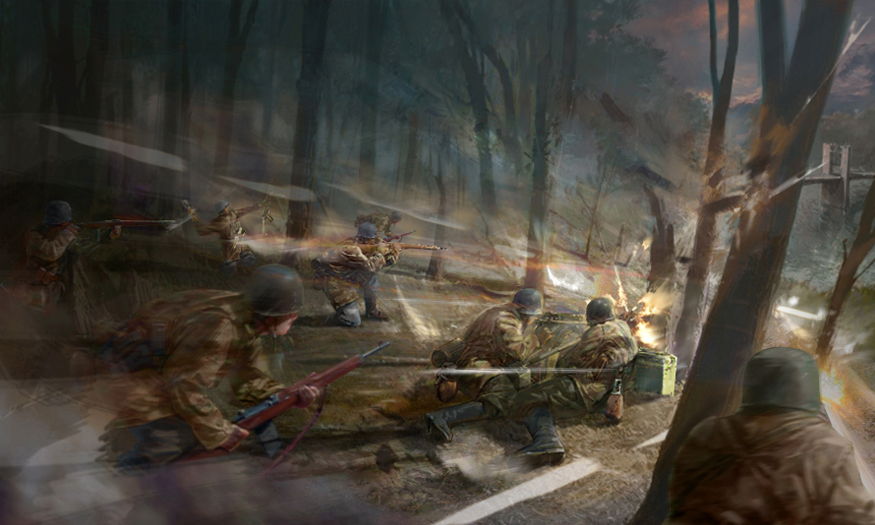 Company Of Heroes Concept Art By Destinchill On Deviantart