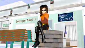 Coco Adel (MMD Model)