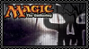 Magic - Black Mana Stamp by reggiewolfpro