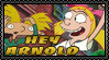 Stamp - Hey Arnold Cap by reggiewolfpro