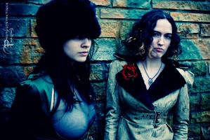 Rebecca and Molly by photosynthetique