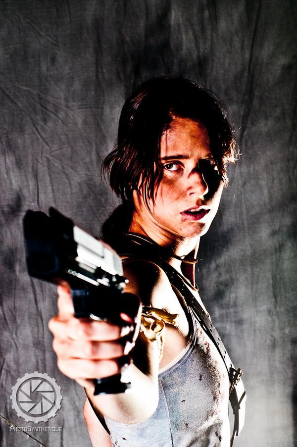 Lara Croft by photosynthetique