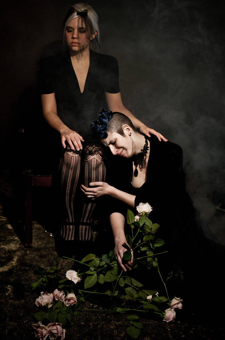 The Grieving Widow by photosynthetique