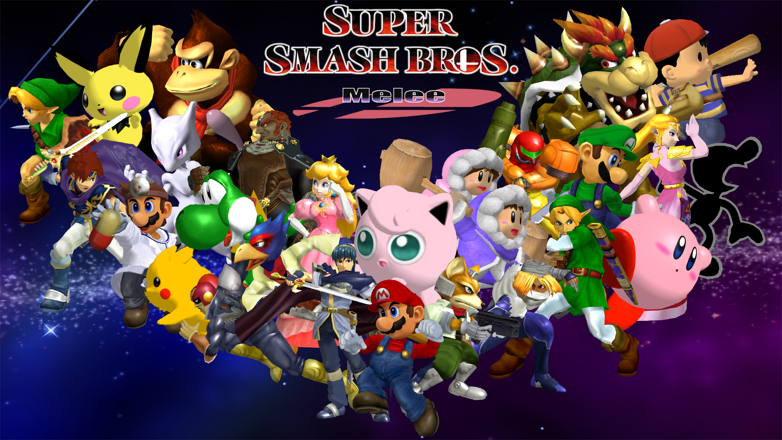 Super Smash Bros Melee Wallpaper By Game34rules On Deviantart