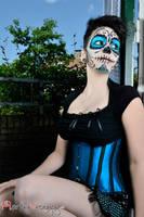 Sugar Skull II by Marthe-Elizabeth