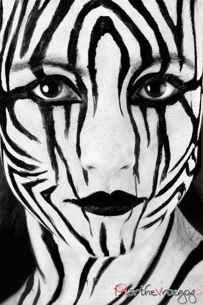 Zebra by Marthe-Elizabeth