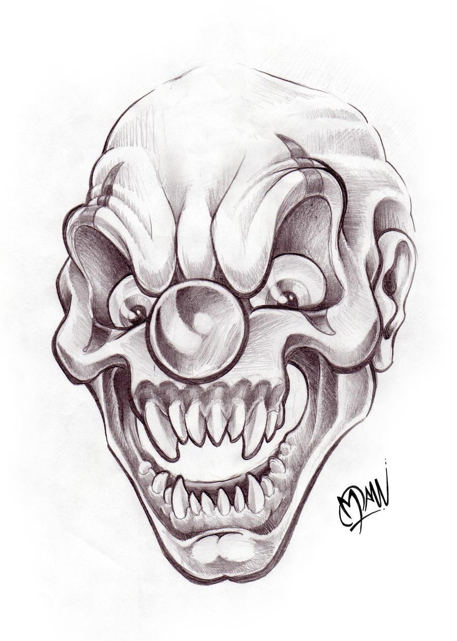 DeadClown by ManuManuTattoo