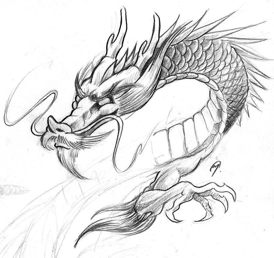 AsianDragon by ManuManuTattoo