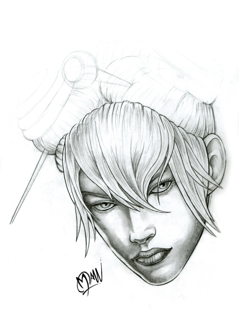 GuildWarFace by ManuManuTattoo